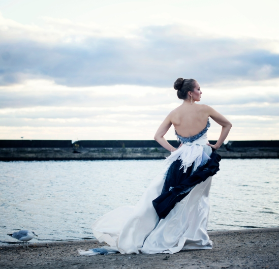 Photo © Stephanie Tudin - Art Gown © Resa McConaghy